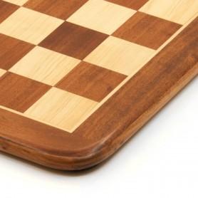 Schachbrett aus Palisander und Ahornholz